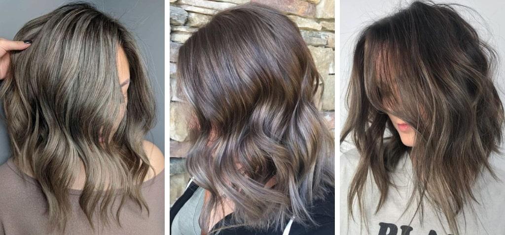 Грибное окрашивание волос фото