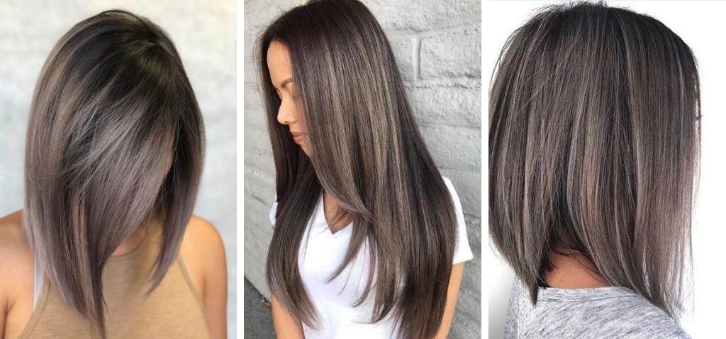 Грибной цвет волос