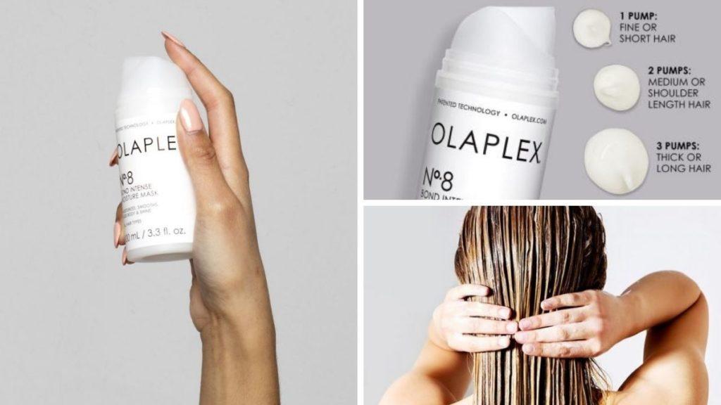 Как пользоваться маской Olaplex 8