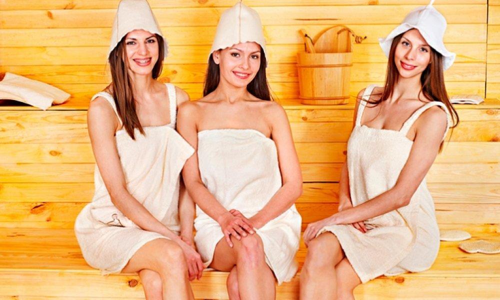 Как защитить волосы в сауне