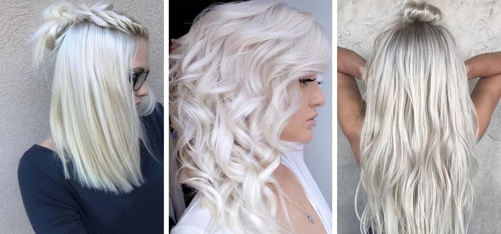 Кому подойдет ледяной блонд