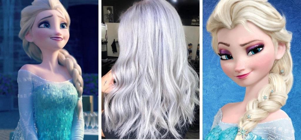 Ледяной блонд цвет волос