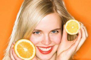 лимон для волос