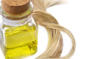 масла для волос смесь