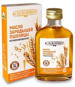 маслом зародышей пшеницы