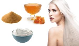 Народные методы осветления волос