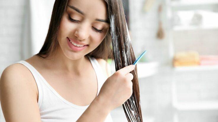 Обертывание волос в домашних условиях