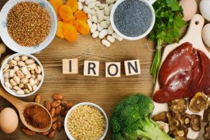 пищевые добавки с повышенным содержанием железа