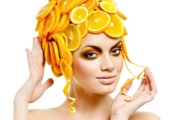 Продукты из холодильника для маски для волос