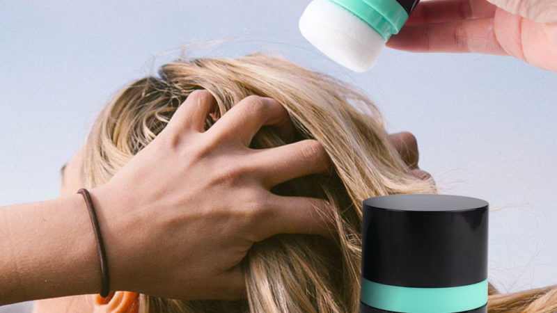 Пудра для волос как применять