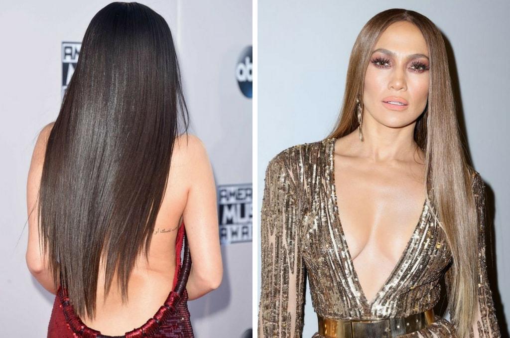 Стеклянные волосы на длинных волосах