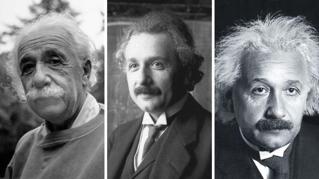 Усы а-ля Эйнштейн