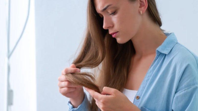 Три вида повреждения волос