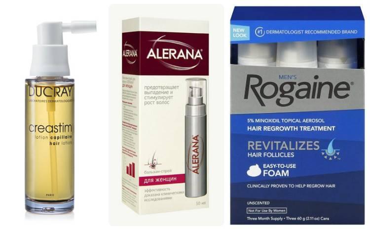 Лекарства против выпадения волос