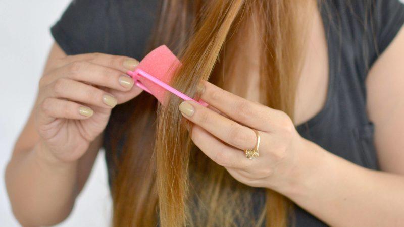 Прямые волосы без утюжка
