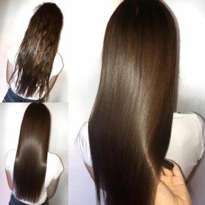 Рецепт прямых волос на весь день