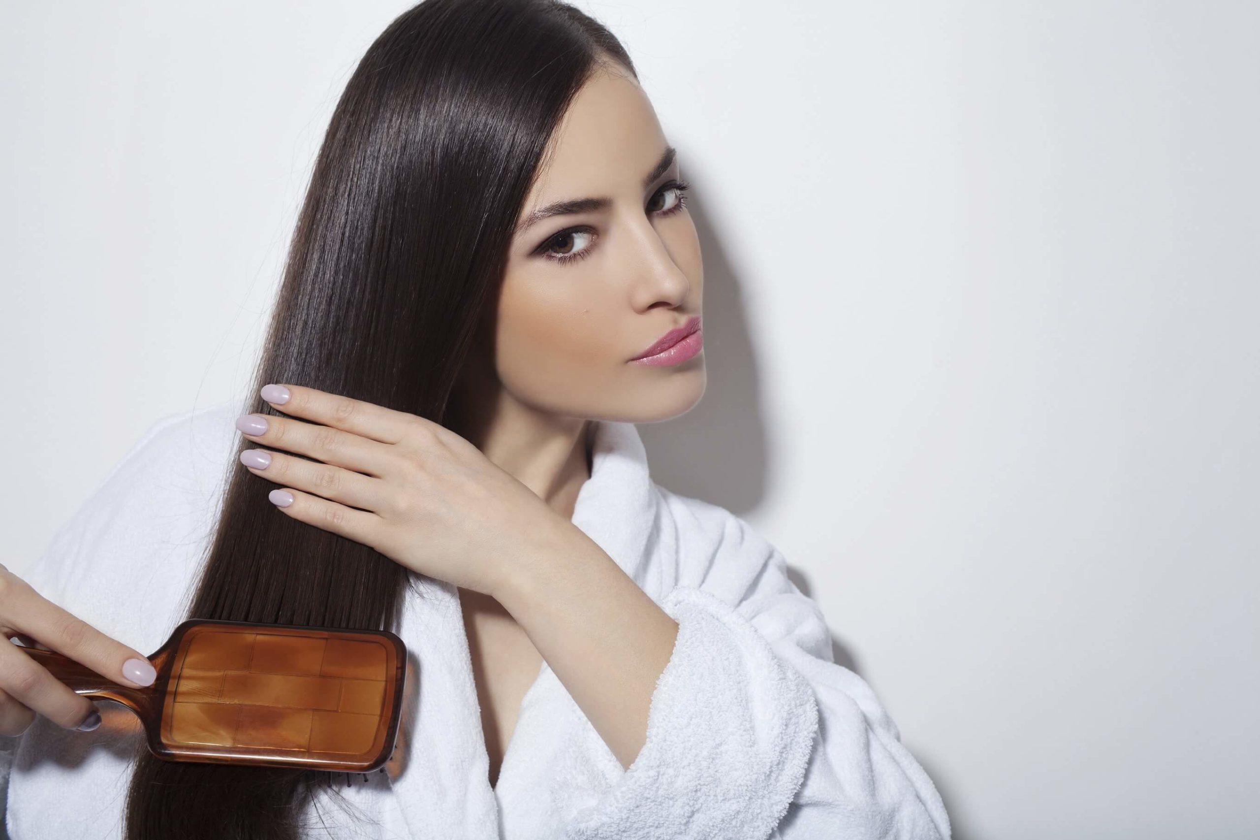 Гладкие шелковистые волосы в домашних условиях