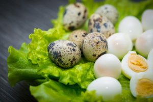 перепелиных яиц