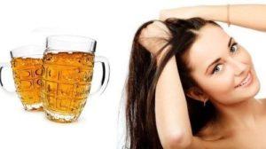 Пиво мыть волосы