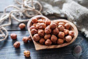 Фундук может обеспечить 86% суточной потребности организма в витамине Е